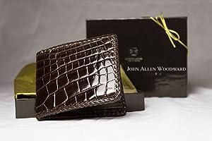 Alligator Bifold Wallets