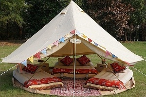 Diameter 9.8ft (3m) bell tent door height 59in top height 78.7in side wall height 23.6in it doesnu0027t have the stove hole. & Amazon.com : Dream House Luxury Outdoor Waterproof Four Season ...