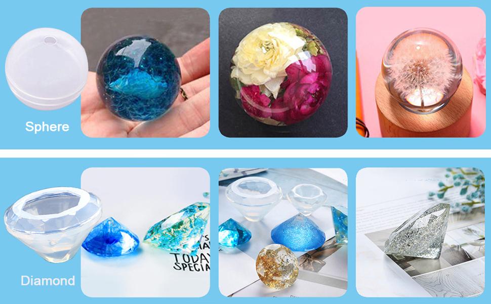 1Pc resin mould Making À faire soi-même Moule lisse peigne Cristal Cartoon Silicone 2017 gves