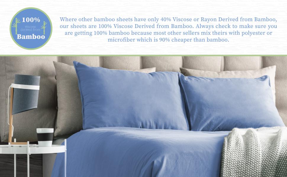 100% Bamboo Bed Sheets