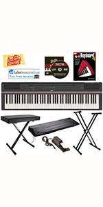 ... Yamaha P-125 Digital Piano with X Style Stand and Bench