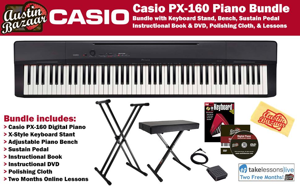 CAS PX160BK COMBO PRO 2