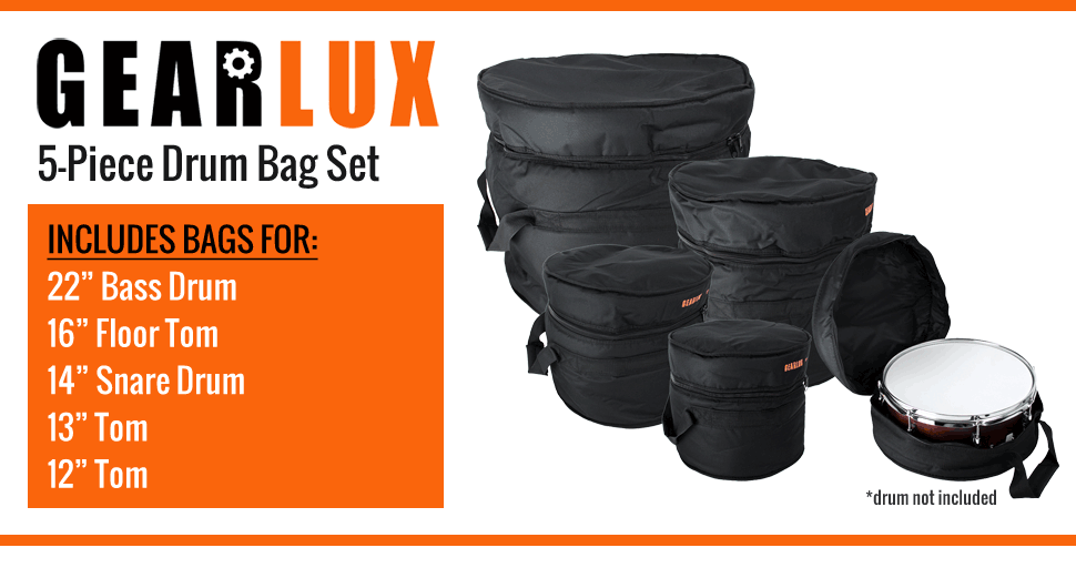 2019 heißer verkauf langlebig im einsatz Luxus drum bag set