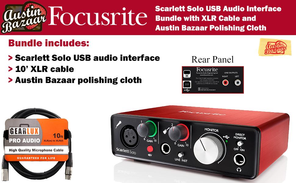 Amazon.com: Focusrite Scarlett Bundles: Musical Instruments