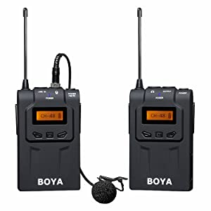 BOYA BY-WM6 Wireless Lavalier Microphone