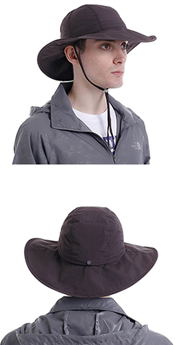 caec005b11d22 Surblue Men s Crushable Ventilated Sun Hat-Coffee-Sun Protective UPF 50+