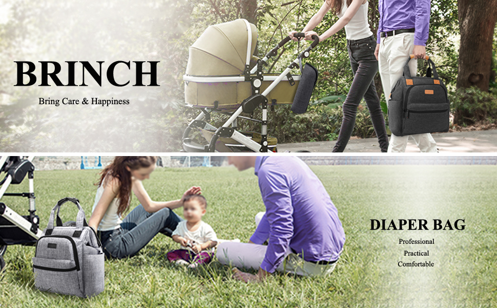 Amazon Com Brinch Multi Function Lightweight Baby Diaper