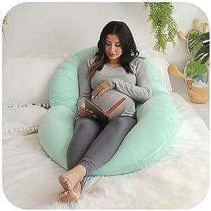 pregnancy pillow maternity support full body belly back hips cushion c shape pharmedoc best