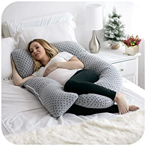 pregnancy pillow u shape pharmedoc maternity full body pregnancy women woman baby back support