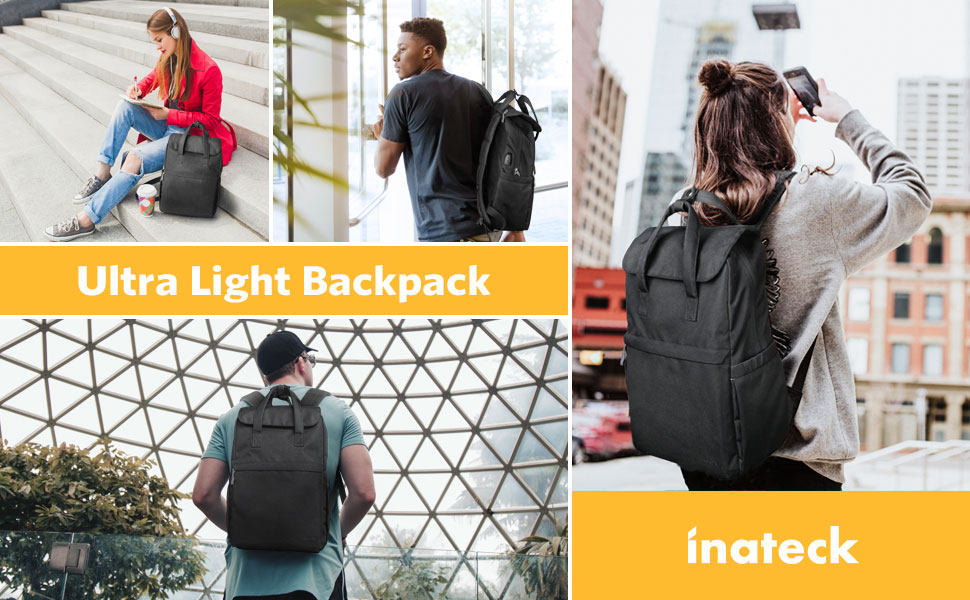 men women backpack
