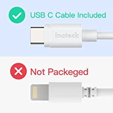usb c charger with usb c cable