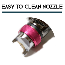Easy to Clean Nozzle