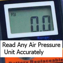 Read Any Air Pressure Unit Accurately