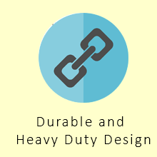 Durable and Heavy Duty Design