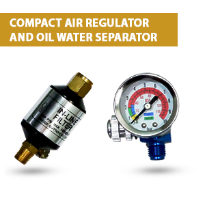 Compact Air Regulator and Oil Water Separator