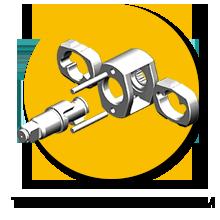 "Twin Hammer 1/2"" DIY Air Impact Wrench"