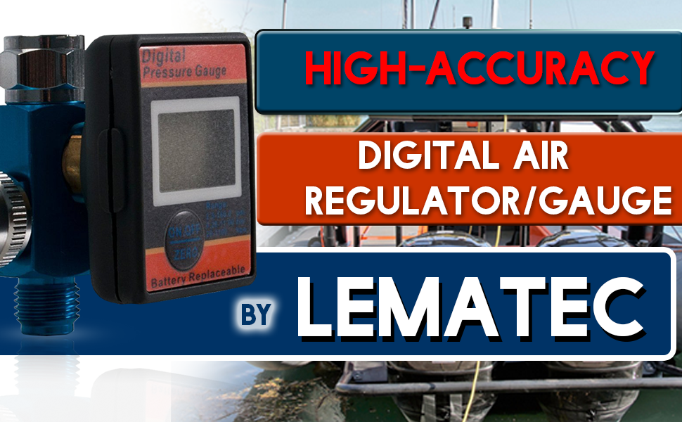 Your High-Accuracy Lematec Digital Air Regulator/Gauge