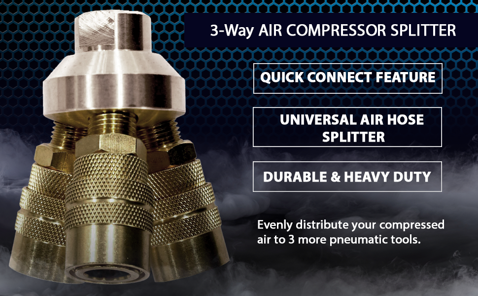 Lematec Air Compressor Splitter Makes Your Life Easier!