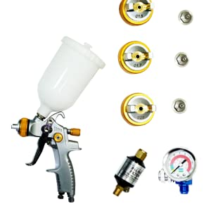 Complete Set of HVLP Spray Gun Kit