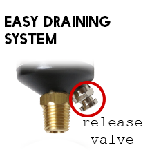 Easy Draining System