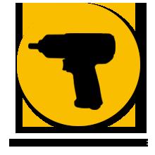 "portable 1/2"" DIY Air Impact Wrench"