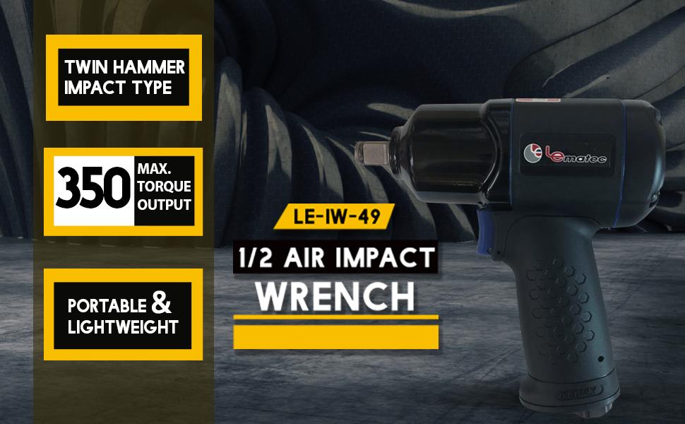 "1/2"" DIY Air Impact Wrench"