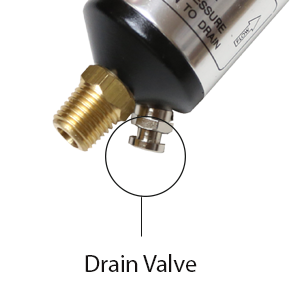 Push Button Drain Valve