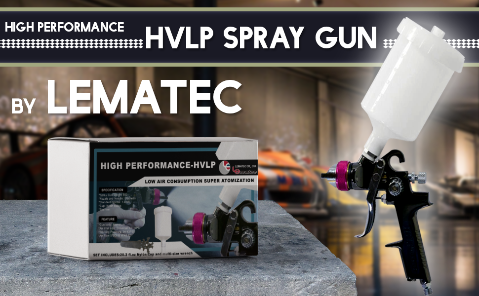 Add Perfection to Your Project with LE-HVLP Spray Gun