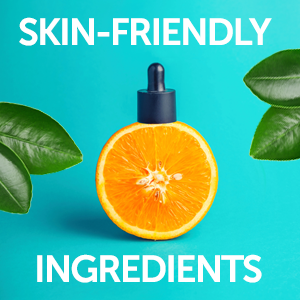 Skin-Friendly Ingredients and with Special Formulation