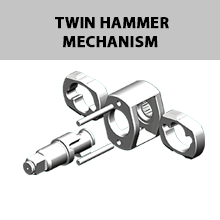 Lematec LE-IWT-A2  ½ Aluminum Impact Wrench Twin Hammer