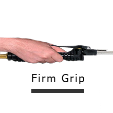 Firm Grip Blowgun