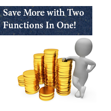 Save More with Two Functions In One!