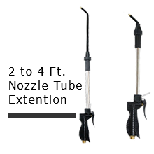 2 to 4 Feet Nozzle Tube Extention