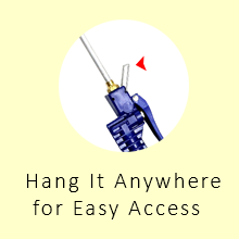 Hang It Anywhere for Easy Access