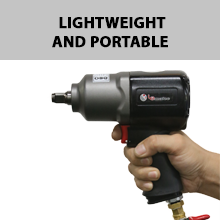 Lematec LE-IWT-A2  ½ Aluminum Impact Wrench Portable
