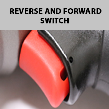 Lematec LE-IWT-A2  ½ Aluminum Impact Wrench Reverse and Forward Switch