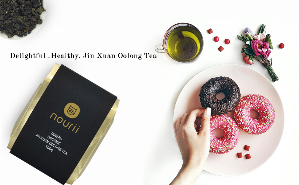 The Delightful and Healthy Jin Xuan Oolong Tea