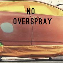 No Overspray!