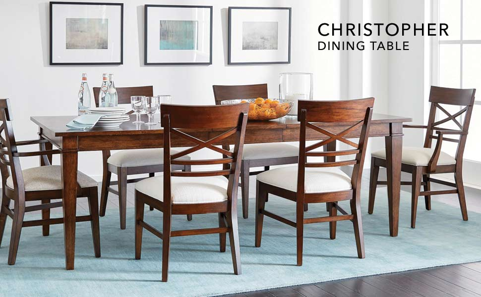 Ethan Allen Christopher Dining Table