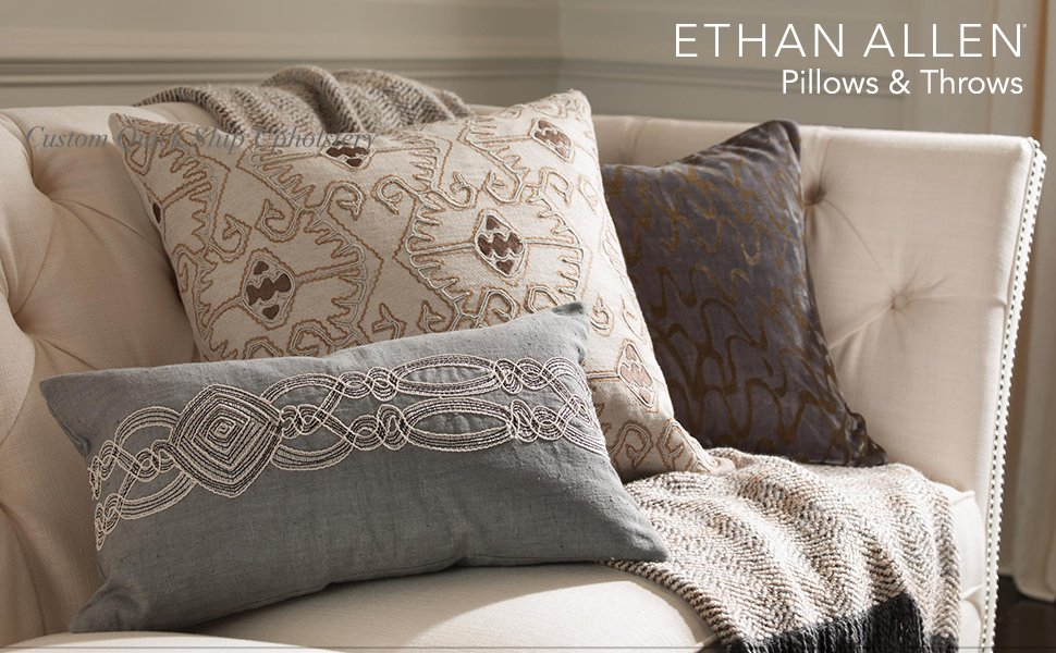 Amazon Ethan Allen Wildflower Pillow Home Kitchen Awesome Ethan Allen Decorative Pillows