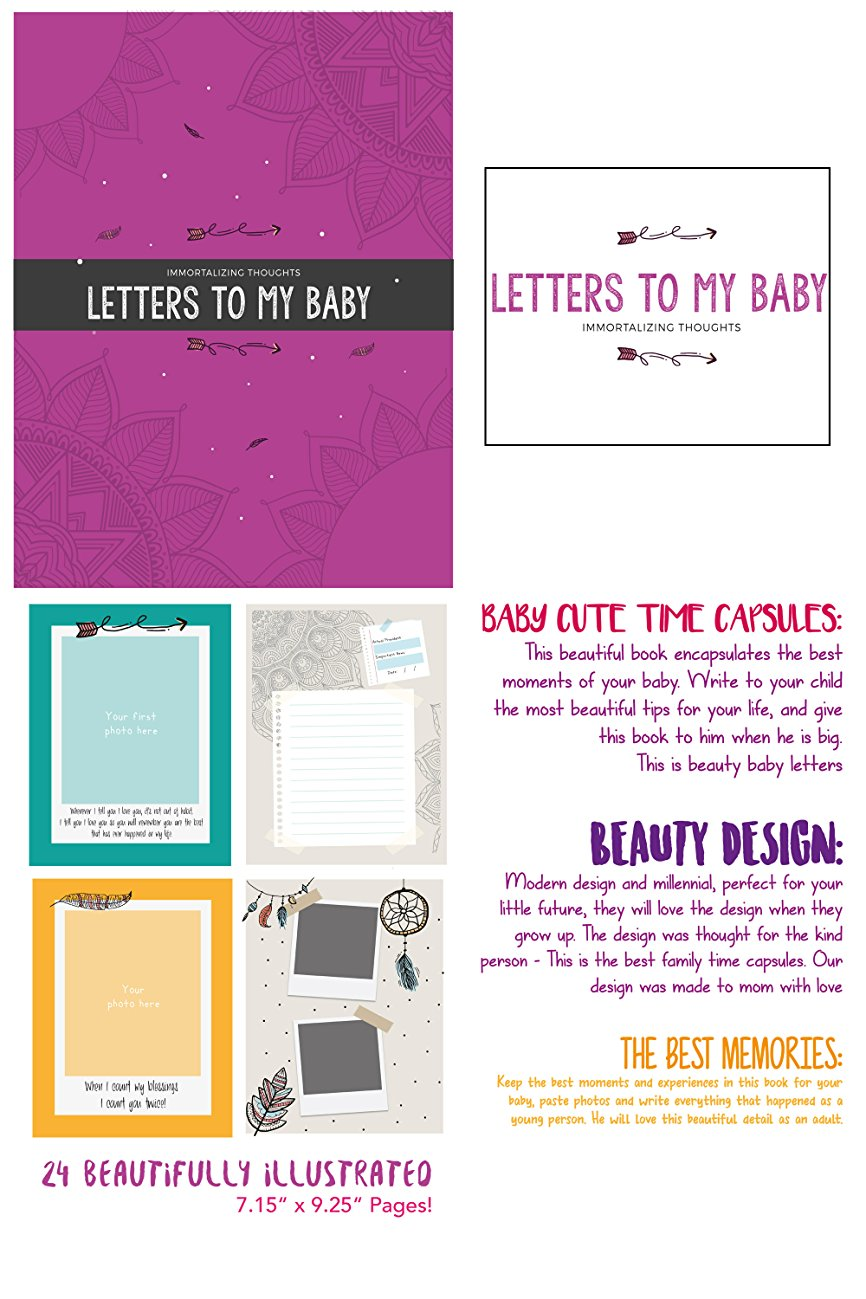 Amazon.com : Immortalizing Thought: Letter To My Baby! Personalized ...