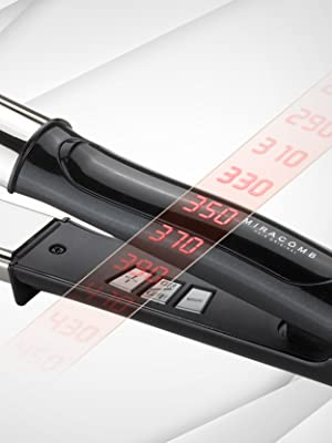 250 ° F- 450 ° F LED Precision Heat Control