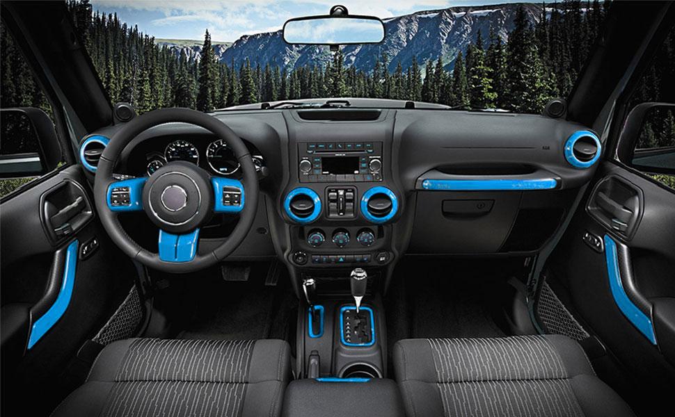 Jeep Wrangler 4 Door Interior Trim Kit