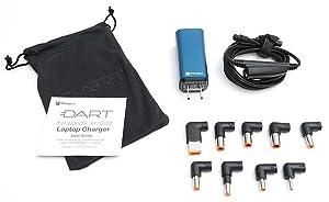 Amazon.com: Cargador para portátil Dart 65 W, Azul ...
