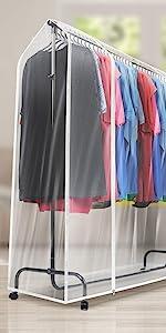 garment rack cover