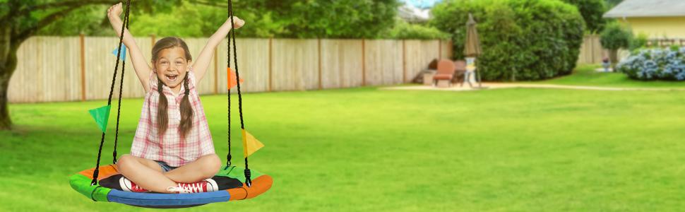 Sorbus saucer swing