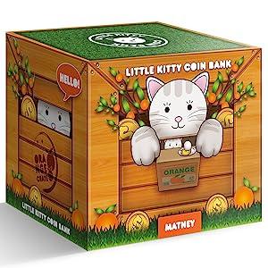 kitty coin bank