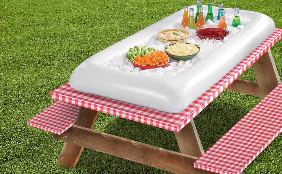 Amazon Com Sorbus Inflatable Serving Bar Salad With