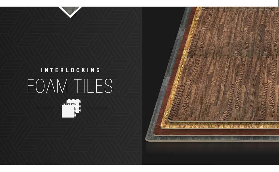 Amazon.com: Sorbus - Alfombrillas de espuma entrelazadas de ...