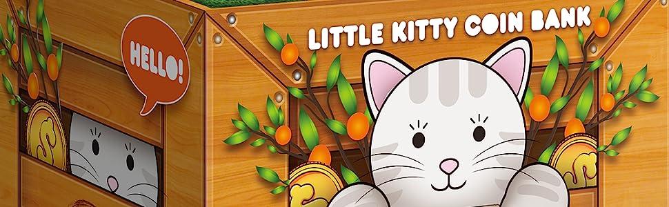 coin kitty bank